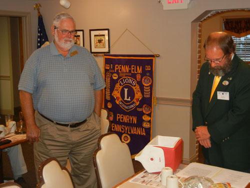 Penn-Elm Area Lions Club / Officers